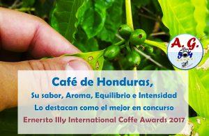 Café de Honduras uno de los mejores del mundo, por su sabor,aroma,equilibrio e intensidad