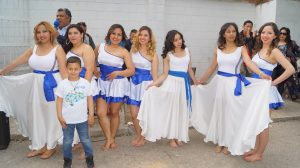 Bailarinas de música Punta