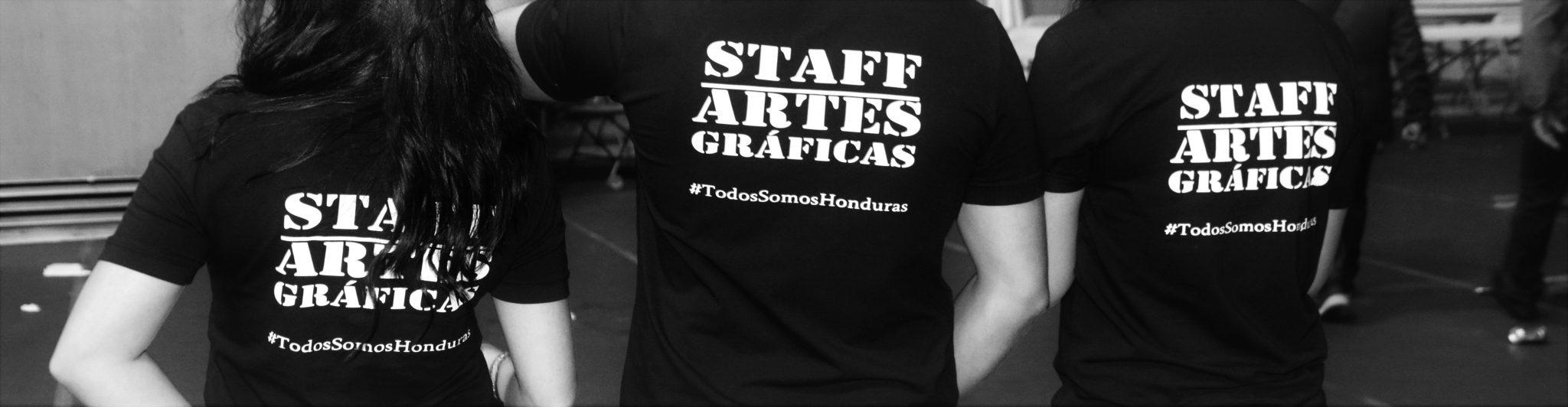 Staff de Artes Graficas 504 Cabecera