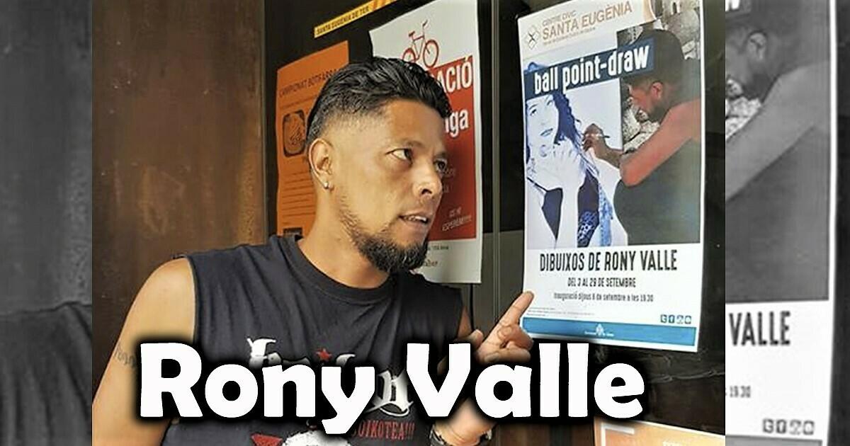 Portda entrevista a Rony Valle artista del pincel con la técnica del bolígrafo