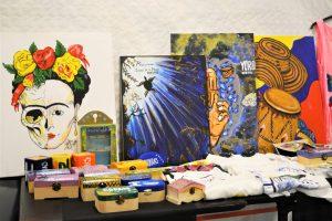 Las bellas Obras de las artistas catrachas SINCRISMANIA, Sindy Flores y Cristal Pineda