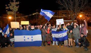 Manifestación en contra de la corrupción de Honduras