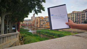 Moción Presentada al ayuntamiento de Girona, camino a defenderla por parte de la ASCHPG