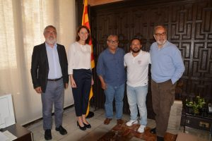 Padre Melo Visita la ciudad de Girona para informar de la situación actual del país