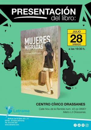 Presentaciín del Libro mujeres migradas por Cinthya Maldonado