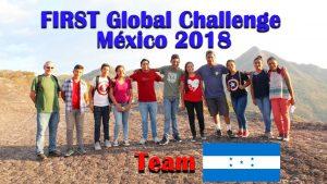 Reprentantes de Honduras en el mundial de robotica mexico 2018