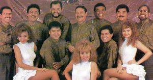 Primeros integrantes del grupo de la Banda Blanca con Pilo Tejeda