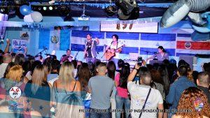 Banda de Pop Rock BYE PAST presente en la conmemoración a los 197 años de independencia de Honduras 2018