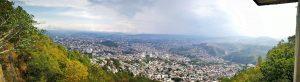 Fotografía de la capital de Honduras desde el parque del Picacho Honduras