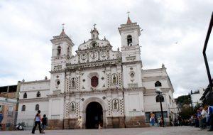 El centro de tegucigalpa, la iglesia de los dolores