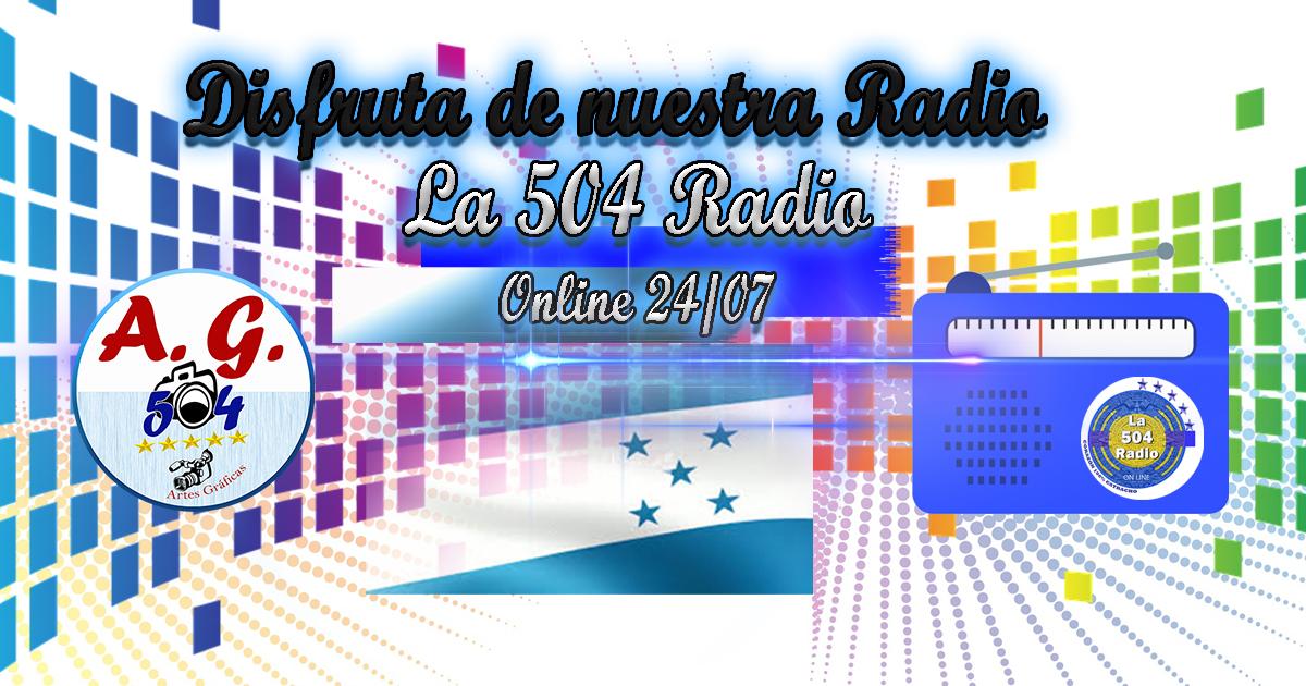 La radio cien porciento catracha de artes gráficas 504
