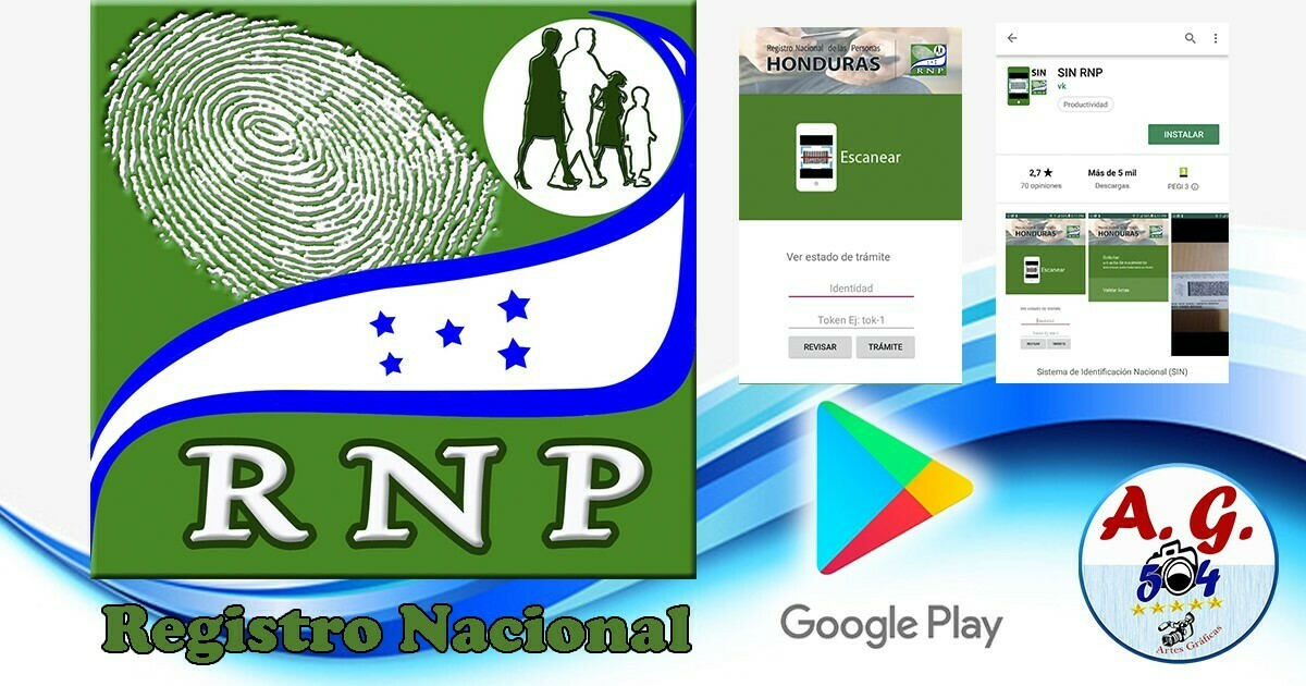 El Registro Nacional de las Personas ya pone a disposición de nosotros una App para poder obtener una copia de la partida de nacimiento