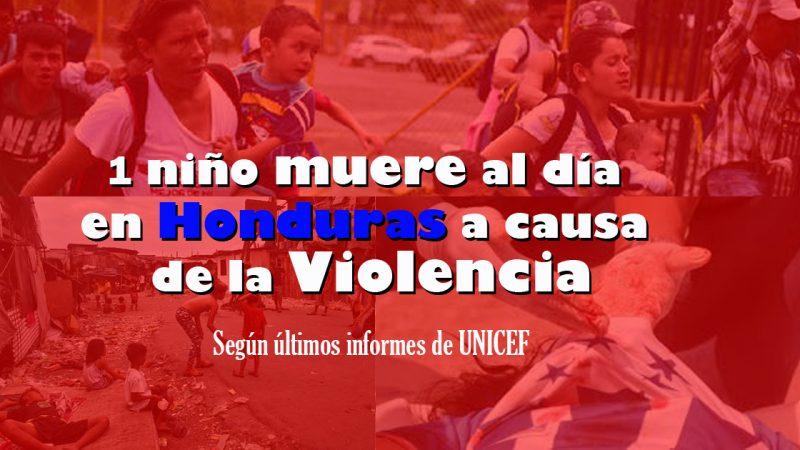 En Honduras todos los días muere un menor a causa de la violencia | UNICEF