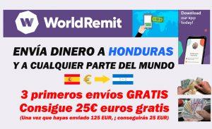 Envío de dinero a Honduras y el mundo